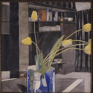 Yellow Tulips, C.1922-23 by Charles Rennie Mackintosh