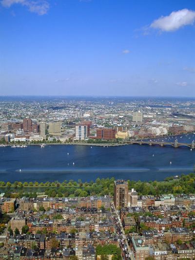 Charles River, Back Bay Area, Boston, Massachusetts, USA-Fraser Hall-Photographic Print