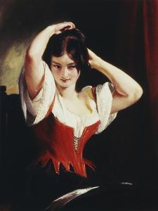 Dulcinea Del Toboso, the Peasant Mistress of Don Quixote, c.1839 by Charles Robert Leslie