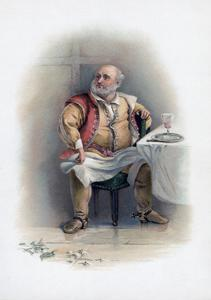 Falstaff, 1891 by Charles Robert Leslie