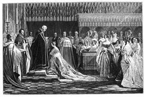 Queen Victoria Receiving the Sacrament at Her Coronation, June 1838 by Charles Robert Leslie