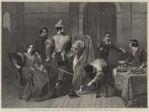 Scene from Taming of the Shrew by Charles Robert Leslie