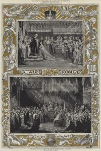 The Coronation of Her Majesty the Queen in Westminster Abbey, 28 June 1838 by Charles Robert Leslie