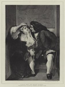 Uncle Toby and Widow Wadman by Charles Robert Leslie
