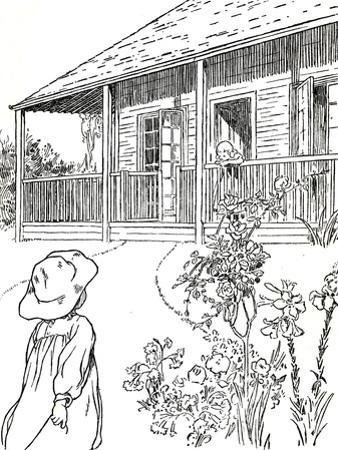 'A Settler's Home', 1912 by Charles Robinson