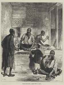 Afghan Sketches, a Kabob Shop at Cabul by Charles Robinson