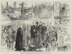 Departure of the Marquis of Lorne and Princess Louise from Liverpool for Canada by Charles Robinson