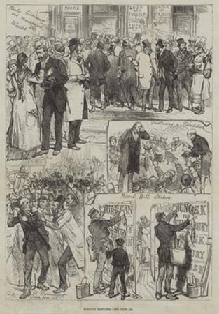 Election Sketches by Charles Robinson