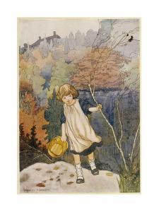 Garden, Loki Girl 1914 by Charles Robinson