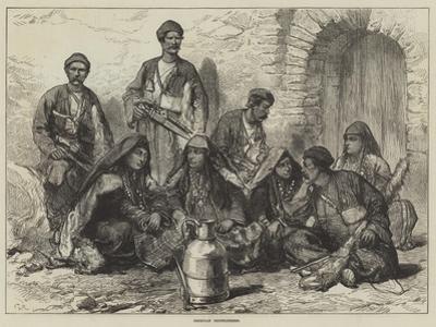 Georgian Mountaineers by Charles Robinson
