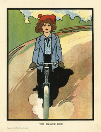 Girl on a Bike by Charles Robinson