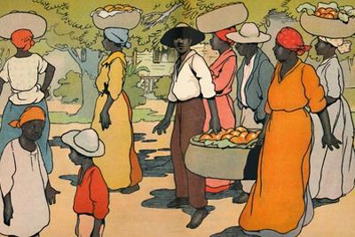 'Going to Market', 1912 by Charles Robinson