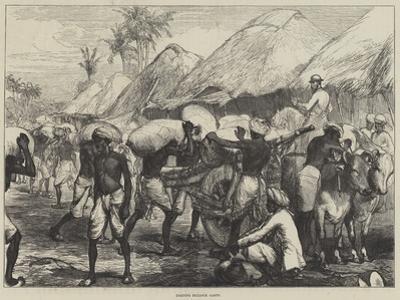 Loading Bullock Carts by Charles Robinson