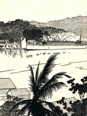 'Port Antonio, Jamaica', 1912 by Charles Robinson