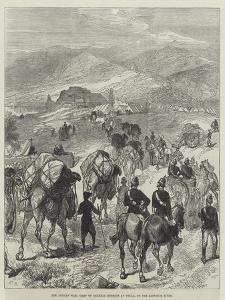 The Afghan War, Camp of General Roberts at Thull, on the Khoorum River by Charles Robinson
