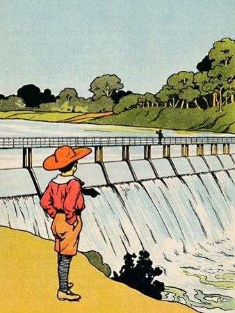 'The Dam', 1912 by Charles Robinson