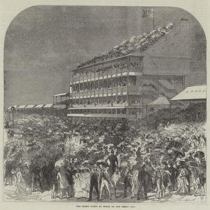 The Grand Stand at Epsom on the Derby Day by Charles Robinson