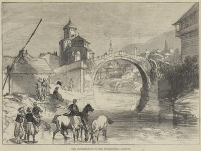 The Insurrection in the Herzegovina, Mostar by Charles Robinson