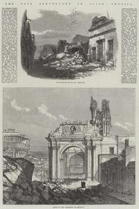 The Late Earthquake in South America by Charles Robinson