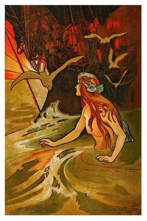 The Mermaid by Charles Robinson
