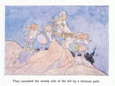 They Ascended the Woody Side of the Hill by a Tortuous Path by Charles Robinson