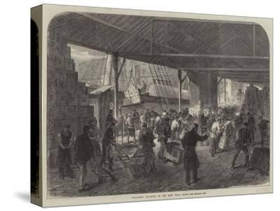 Unloading Tea-Ships in the East India Docks