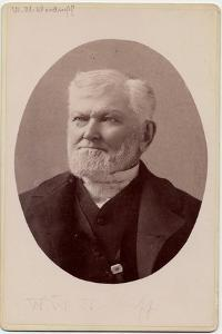 Wilford Woodruff (1807-98), 4th President of the Church of Jesus Christ of Latter Day Saints, or… by Charles Roscoe Savage