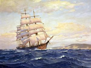 The Ships Formosa and Nightengale on the High Seas by Charles Rosner