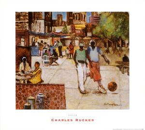 Harlem by Charles Rucker