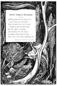 Ariel's Song to Ferdinand, 1895 by Charles S Ricketts