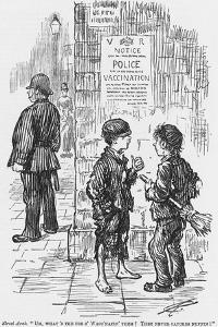 A Satirical Look at the Chances of the Average Police Constable's Ability to Catch a Cold, 1886 by Charles Samuel Keene