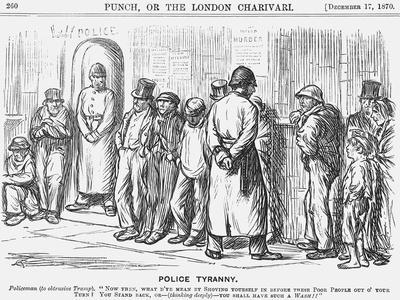 Police Tyranny, 1870