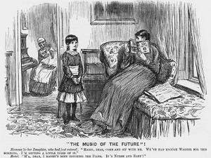 The Music of the Future, 1887 by Charles Samuel Keene