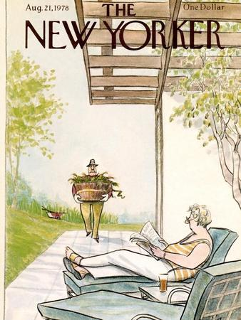 The New Yorker Cover - August 21, 1978