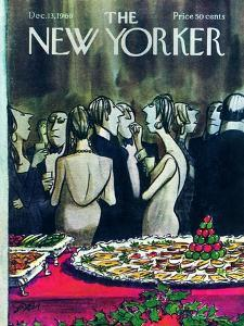 The New Yorker Cover - December 13, 1969 by Charles Saxon