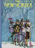 """Walter ? am I a New Year's resolution?"" - New Yorker Cartoon-Charles Saxon-Premium Giclee Print"