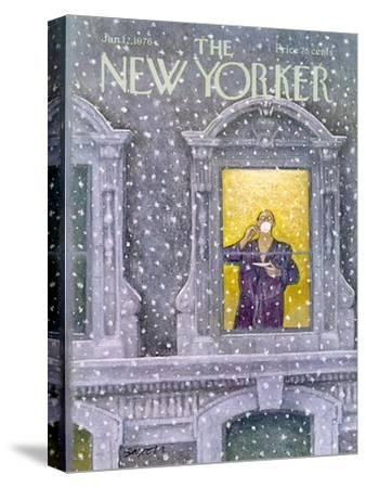 The New Yorker Cover - January 12, 1976