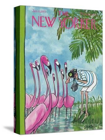 The New Yorker Cover - January 15, 1972