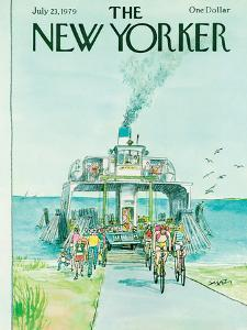 The New Yorker Cover - July 23, 1979 by Charles Saxon
