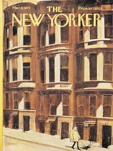 The New Yorker Cover - March 6, 1971 by Charles Saxon