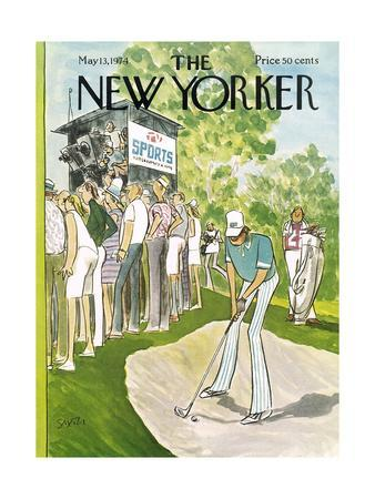 The New Yorker Cover - May 13, 1974