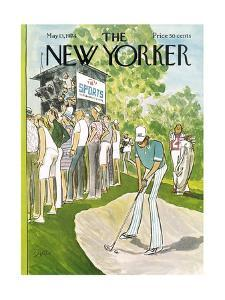 The New Yorker Cover - May 13, 1974 by Charles Saxon