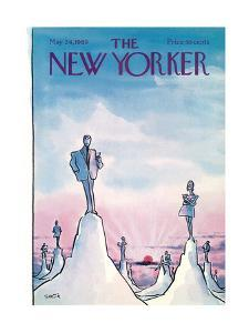 The New Yorker Cover - May 24, 1969 by Charles Saxon