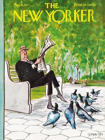 The New Yorker Cover - May 8, 1971