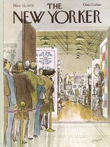 The New Yorker Cover - November 12, 1979 by Charles Saxon