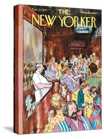 The New Yorker Cover - November 27, 1971