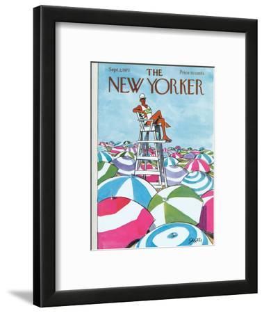 The New Yorker Cover - September 2, 1972
