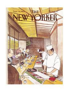 The New Yorker Cover - September 26, 1983 by Charles Saxon