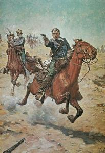 Dead Sure: A U.S. Cavalry Trooper in the 1870S by Charles Schreyvogel