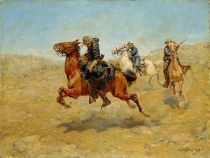 My Bunkie, 1899 by Charles Schreyvogel